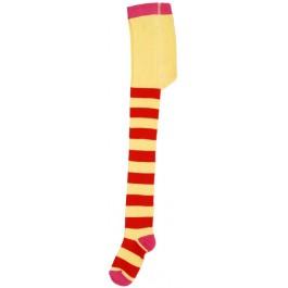 Hippe geel met rood gestreepte maillot van het hippe merk Duns Sweden.   De maillot van Duns Sweden is gemaakt van GOTS gecertificeerd biologisch katoen. Dat is wel zo prettig!