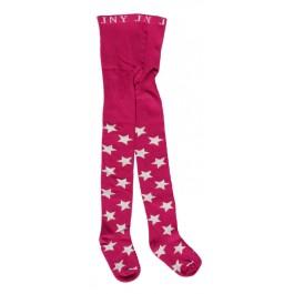 Hippe roze maillot met witte sterren van het Zweedse merk JNY Design.