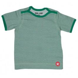 Kik-Kid vest badstof d. Blue/Grey
