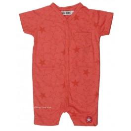 Kik-Kid jumpsuit zomer sterren pink