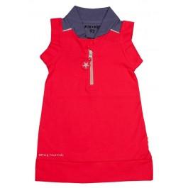 Kik-Kid jurk sleeveless red baby