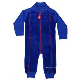 Kik-Kid jumpsuit terry/jersey blue
