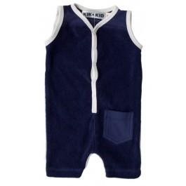 Kik-Kid jumpsuit zomer terry d. blue