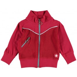 Kik-Kid jacket terry red kinderkleding Culemborg