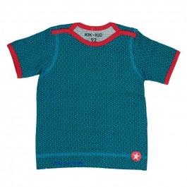 Kik-Kid t-shirt ss jersey print star green