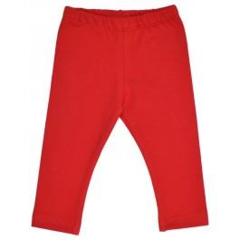 Rode legging van het Belgische merk Baba-Babywear.   De kleding van Baba-Babywear is gemaakt van biologisch katoen.
