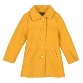 Petit Louie Anais Coat Veggie Honey Yellow