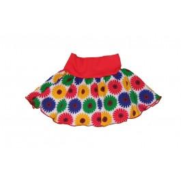 Snoozy rokje rok skirt sunflower Pimpyourkids
