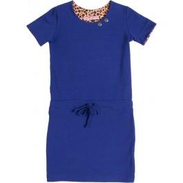 Waaaw jurk Loose Kobalt