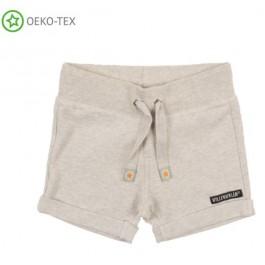 Grey melange short van het Zweedse merk Villervalla.
