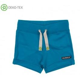 Blauwe short van het Zweedse merk Villervalla