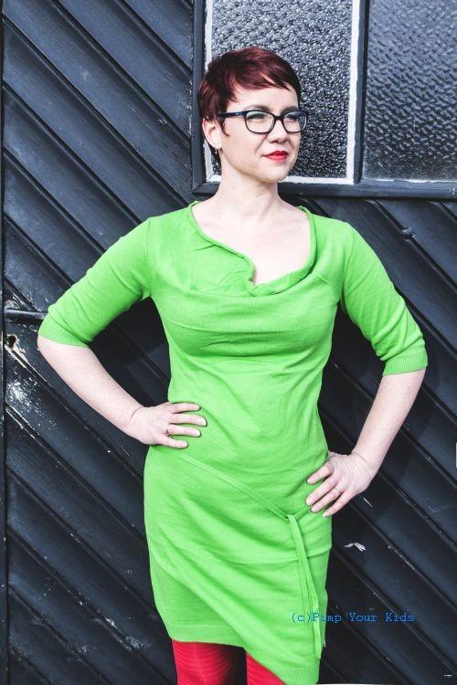 Isis jurk groen