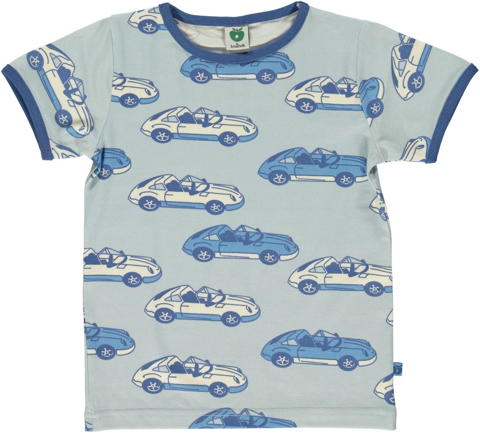 f6bce1ac081a4f Smafolk t-shirt auto lichtblauw