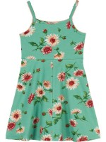 Petit Louie Nora Dress Danza Opal Green