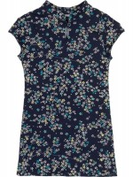 Petit Louie Chinese dress Frangipani blue