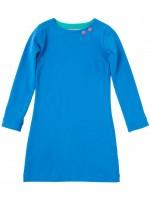 Waaaw jurk l/s blauw