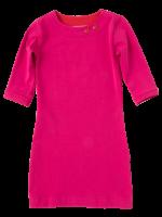 Waaaw jurk fuchsia 3/4 mouw