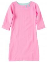 Waaaw jurk licht roze 3/4 mouw