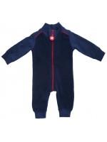 Kik-Kid jumpsuit terry d.blue