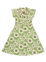 AiA Camitta dress groen bloemen