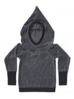 AlbaBabY Habian Hood Blouse Medium Grey