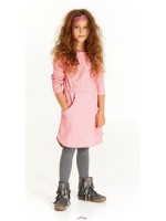 AlbaBabY Haya Dress Deep Sea Coral