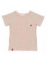 AlbaBabY Eddy t-shirt brown/orange