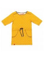 AlbaBaby Ebba pocket dress geel (bloem)