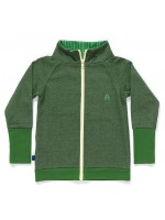 AlbaBabY Frank zipper gardigan green