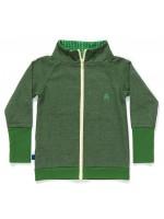 AlbaBabY Frank zipper gardigan green