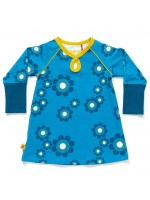 elinor dress blue flower