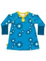elinor dress blue flower