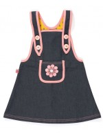 AlbaBabY Hatty Spencer Dress Denim
