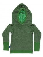AlbaBabY Fabian hood blouse green