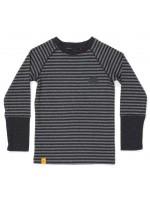 AlbaBabY Heim Blouse Dark Grey Striped