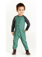 AlbaBabY Hanni Playsuit Duck Green Boomerang