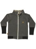 AlbaBabY Gant zipper cardigan grey (Kleding)
