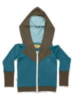 AlbaBabY Gustav zipper hoodie blue