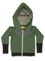 AlbaBabY Gustav zipper hoodie green