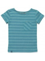 AlbaBabY Glow pocket t-shirt blue striped