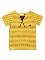 AlbaBabY Gate t-shirt yellow striped