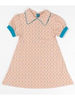 AlbaBabY Julie dress Dusty Rose small flower
