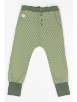 AlbaBabY Hai button pants Hedge green Harlequin