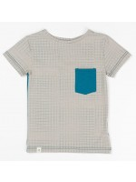 AlbaBabY t-shirt Silas Paloma Dotted Cubes