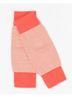 AlbaBabY Lea beenwarmers orange com stripe