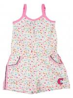 Claesens jumpsuit hearts Girl spaghettibandjes