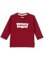 Levi's longsleeve rood met wit logo (baby)