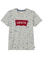 Levi's t-shirt flockwin grey melange