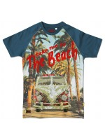 Stones & Bones t-shirt the beach jeans