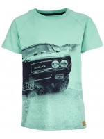 Stones & Bones t-shirt GTO turquoise